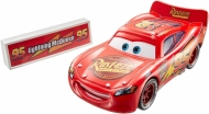 Disney Cars Movie  Moments Lightning McQueen with pit stop barrier